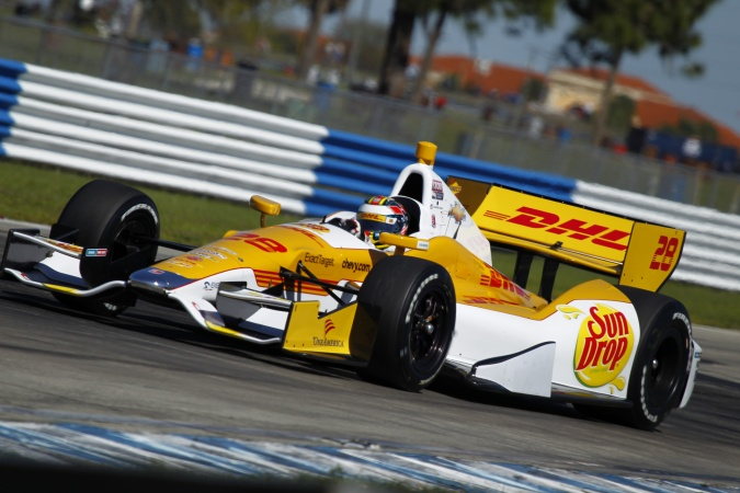 Photo: Ryan Hunter-Reay - Andretti Autosport - Dallara DW12 - Chevrolet
