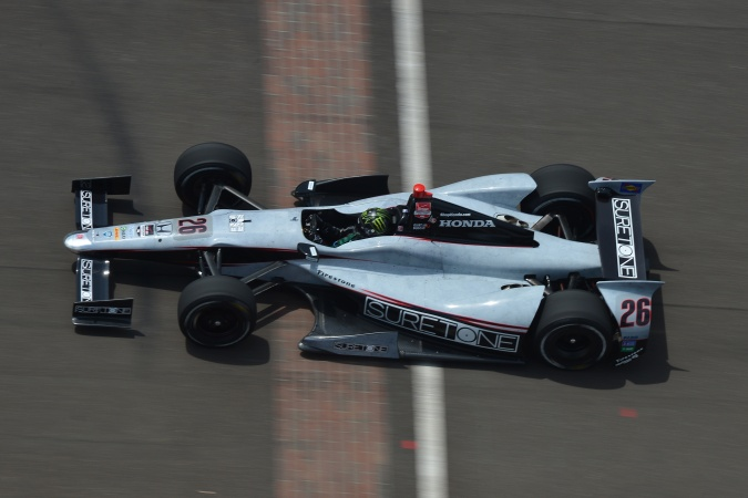 Photo: Kurt Busch - Andretti Autosport - Dallara DW12 - Honda