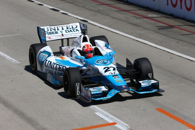 Photo: James Hinchcliffe - Andretti Autosport - Dallara DW12 - Honda
