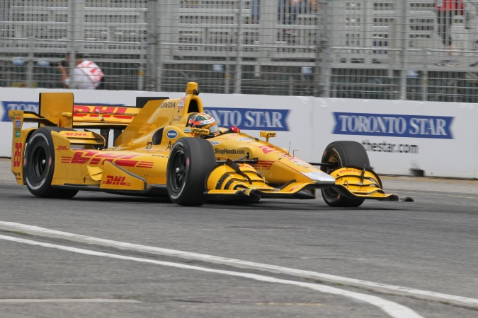 Photo: Ryan Hunter-Reay - Andretti Autosport - Dallara DW12 - Honda