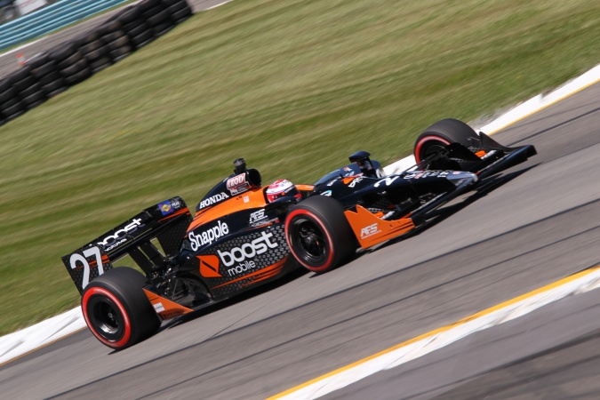 Photo: Adam Carroll - Andretti Autosport - Dallara IR-05 - Honda