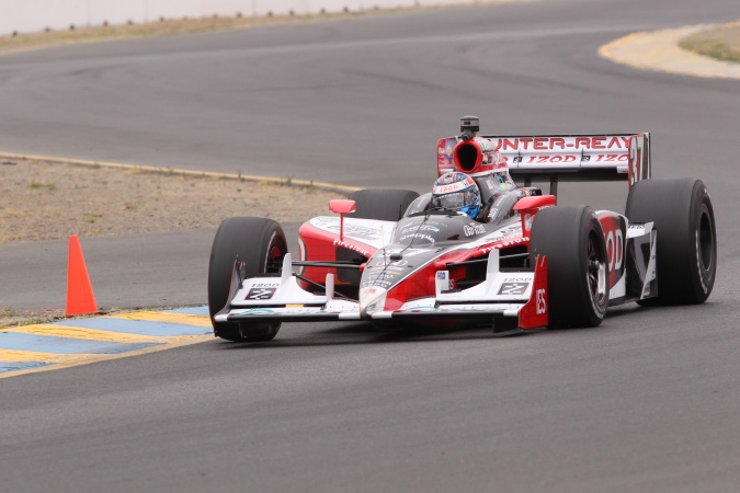 Photo: Ryan Hunter-Reay - Andretti Autosport - Dallara IR-05 - Honda