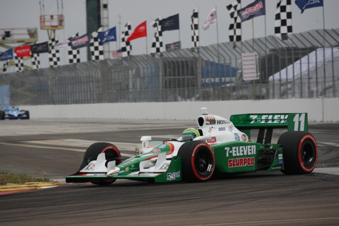 Photo: Tony Kanaan - Andretti Autosport - Dallara IR-05 - Honda