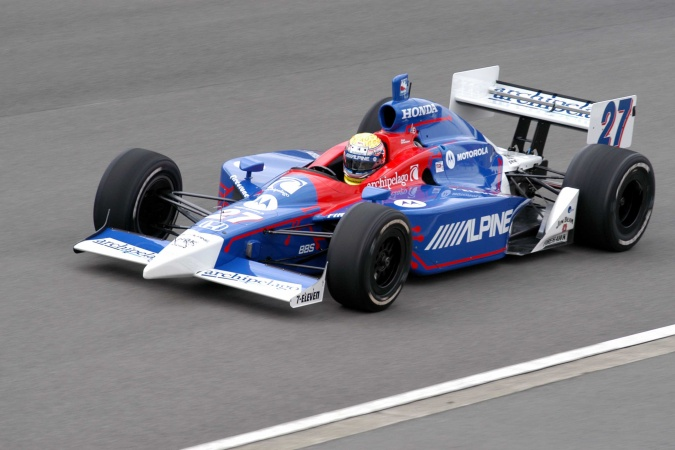 Photo: Dan Wheldon - Andretti Green Racing - Dallara IR-03 - Honda