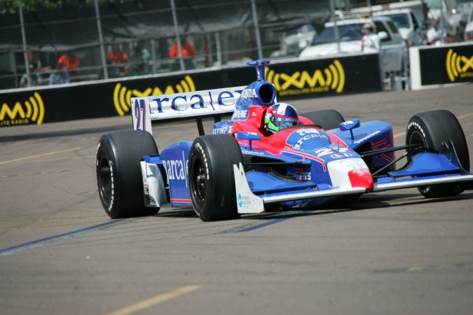 Photo: Dario Franchitti - Andretti Green Racing - Dallara IR-05 - Honda