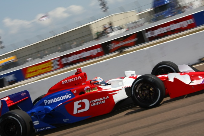 Photo: Hideki Mutoh - Andretti Green Racing - Dallara IR-05 - Honda