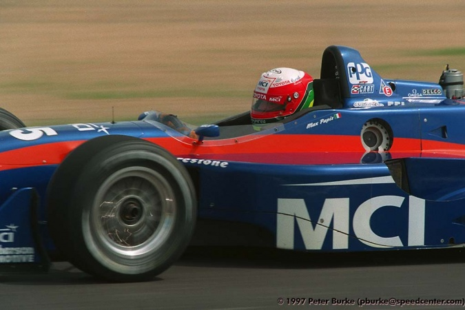 Photo: Massimilano Papis - Arciero-Wells Racing - Reynard 97i - Toyota