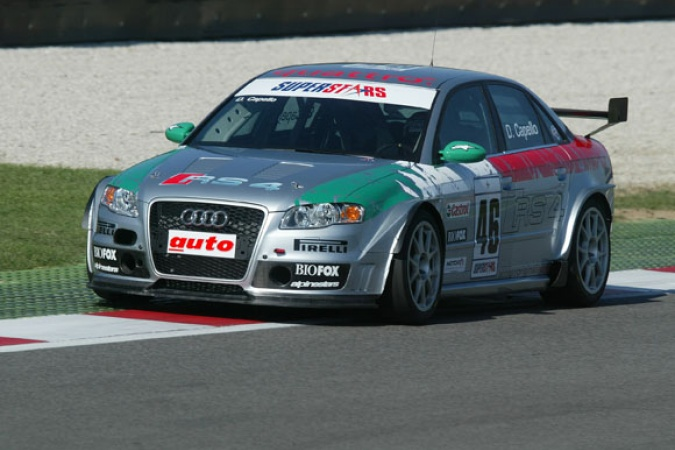 Photo: Rinaldo Capello - Audi Sport Italia - Audi RS4 (B7)