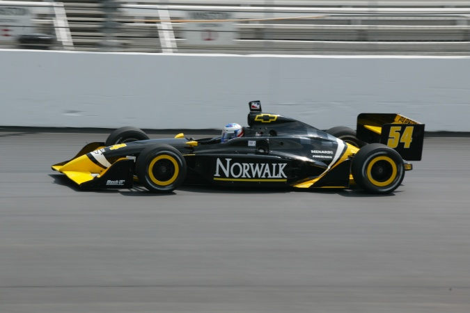 Photo: Robbie McGehee - Beck Motorsports - Dallara IR-02 - Chevrolet