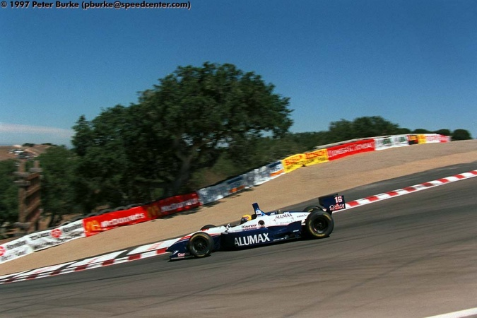 Photo: Roberto Moreno - Bettenhausen Motorsports - Reynard 97i - Mercedes