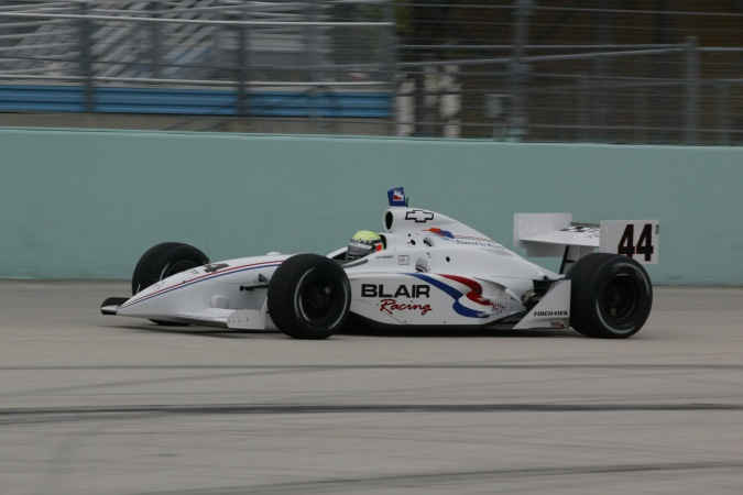 Photo: Alex Barron - Blair Racing - Dallara IR-02 - Chevrolet