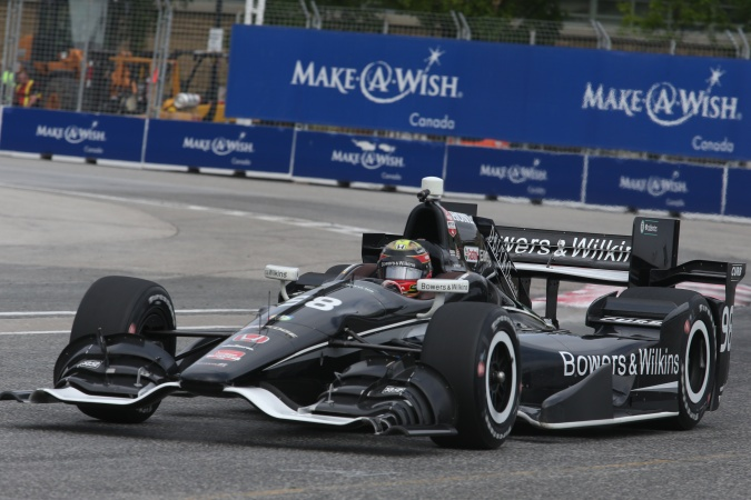 Photo: Gabriel Chaves - Bryan Herta Autosport - Dallara DW12 - Honda