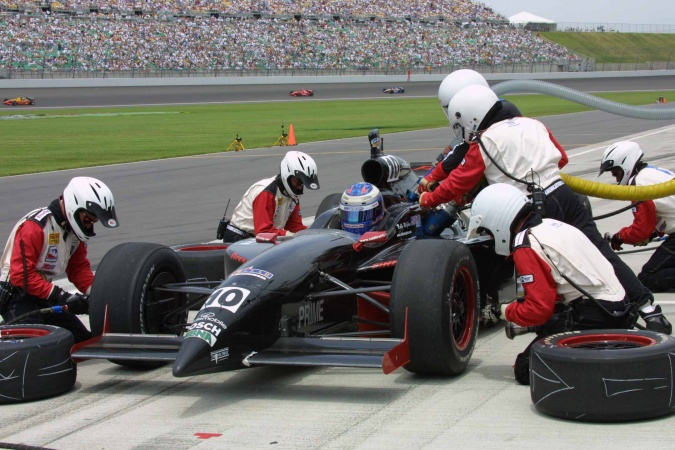 Photo: Robbie McGehee - Cahill Racing - Dallara IR-01 - Oldsmobile
