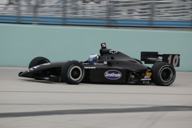 Photo: Robbie McGehee - Cahill Racing - Dallara IR-02 - Chevrolet