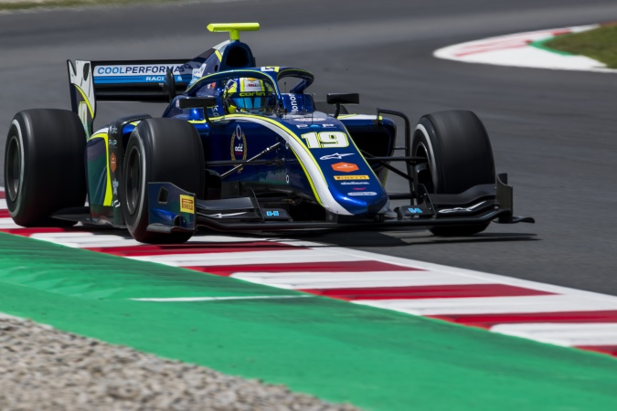 Photo: Lando Norris - Carlin Motorsport - Dallara F2 2018 - Mecachrome