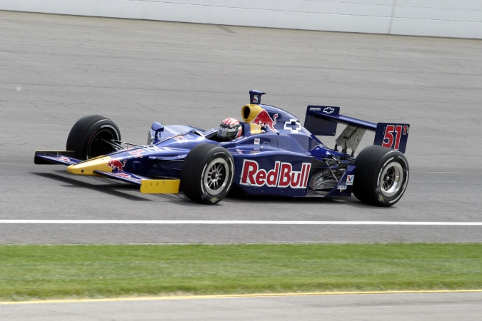 Photo: Alex Barron - Cheever Racing - Dallara IR-03 - Chevrolet