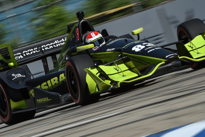Photo: Charlie Kimball - Chip Ganassi Racing - Dallara DW12 - Chevrolet