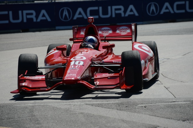 Photo: Dario Franchitti - Chip Ganassi Racing - Dallara DW12 - Honda