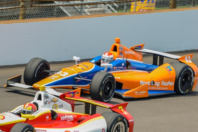 Photo: Charlie Kimball - Chip Ganassi Racing - Dallara DW12 - Honda