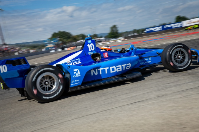 Photo: Felix Rosenqvist - Chip Ganassi Racing - Dallara DW12 - Honda