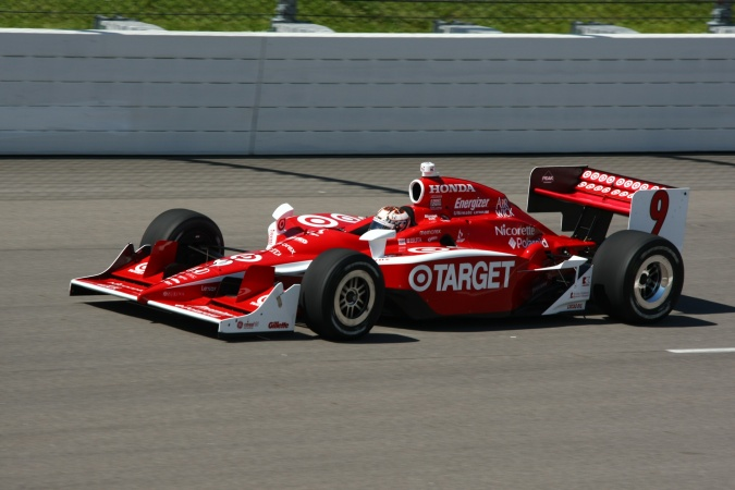 Photo: Scott Dixon - Chip Ganassi Racing - Dallara IR-05 - Honda