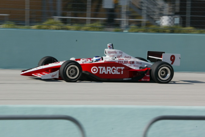 Photo: Scott Dixon - Chip Ganassi Racing - Panoz G-Force GF09 - Toyota