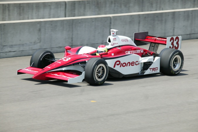 Photo: Ryan Briscoe - Chip Ganassi Racing - Panoz GF09 - Toyota