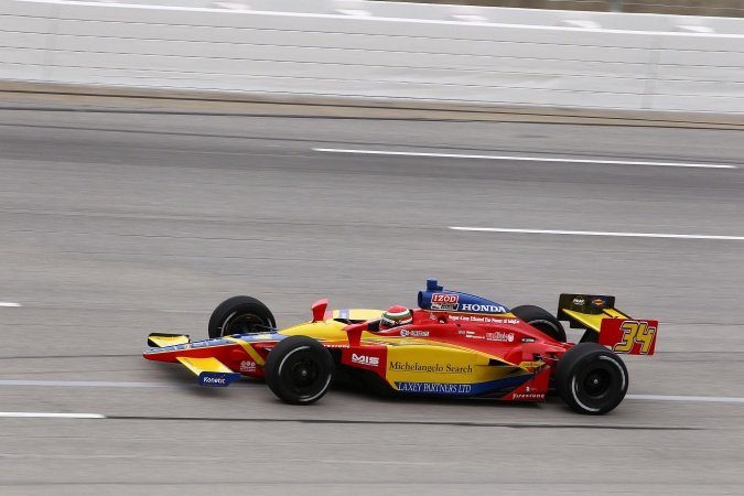 Photo: Dillon Battistini - Conquest Racing - Dallara IR-05 - Honda