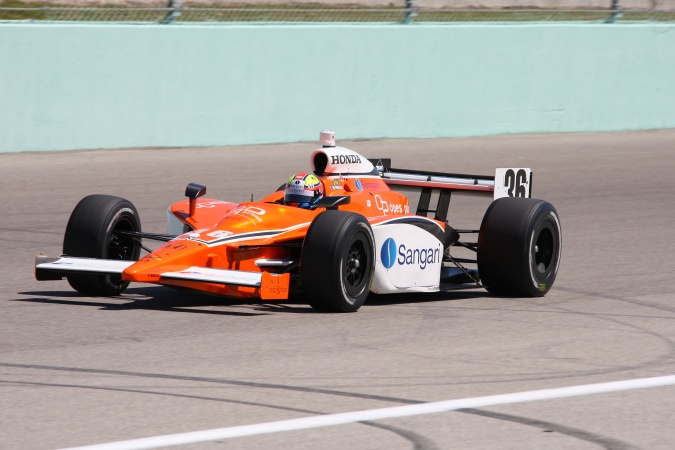Photo: Enrique Bernoldi - Conquest Racing - Dallara IR-05 - Honda
