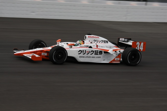 Photo: Kousuke Matsuura - Conquest Racing - Dallara IR-05 - Honda