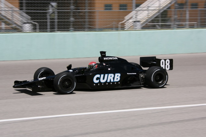 Photo: Alex Barron - CURB/Agajanian/Beck Motorsports - Dallara IR-05 - Honda