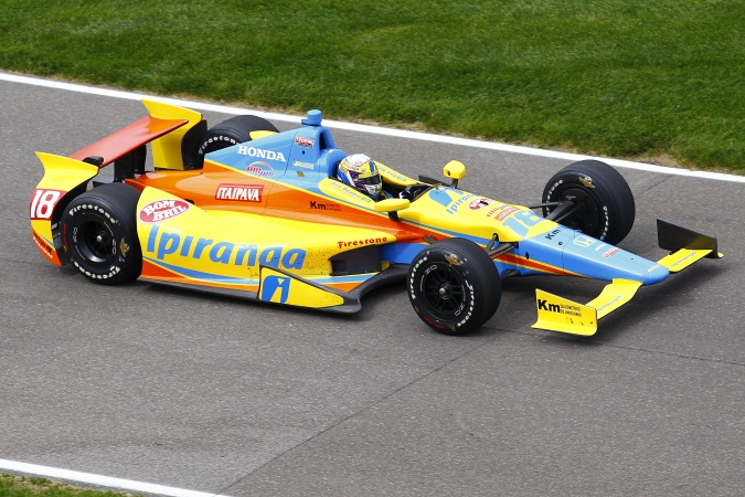 Photo: Ana Beatriz de Figueiredo - Dale Coyne Racing - Dallara DW12 - Honda