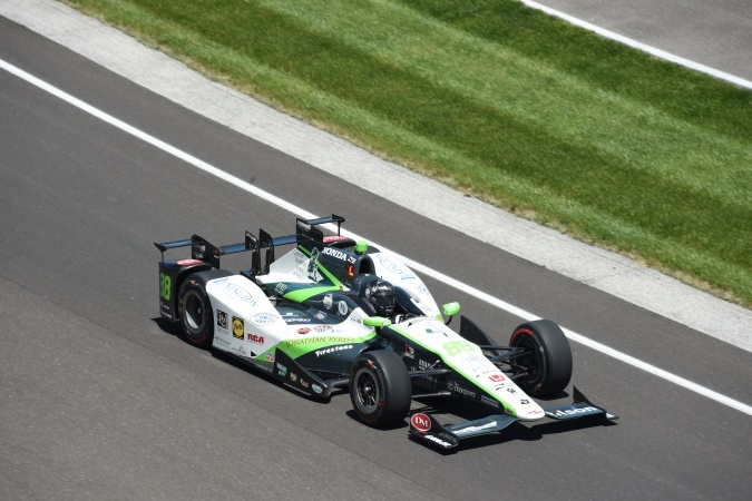 Photo: Bryan Clauson - Dale Coyne Racing - Dallara DW12 - Honda