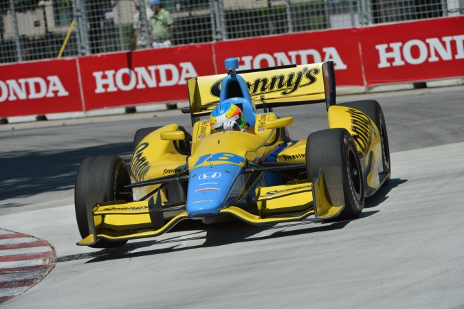 Photo: Mike Conway - Dale Coyne Racing - Dallara DW12 - Honda