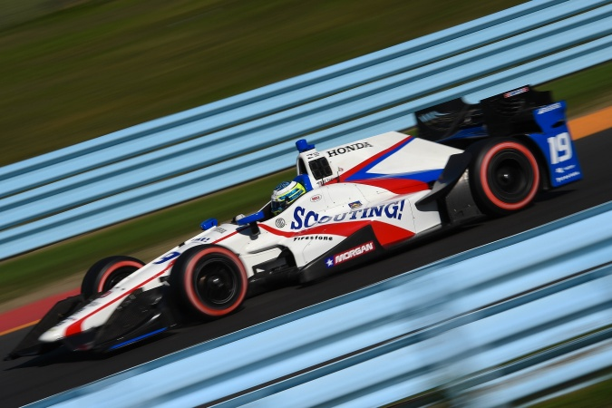 Photo: RC Enerson - Dale Coyne Racing - Dallara DW12 - Honda