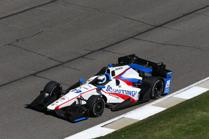 Photo: Luca Filippi - Dale Coyne Racing - Dallara DW12 - Honda