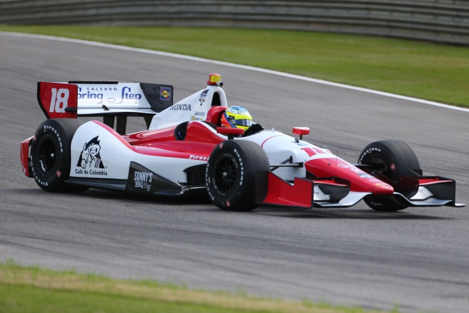Photo: Carlos Huertas - Dale Coyne Racing - Dallara DW12 - Honda