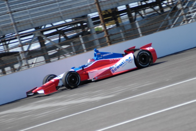 Photo: James Jakes - Dale Coyne Racing - Dallara DW12 - Honda