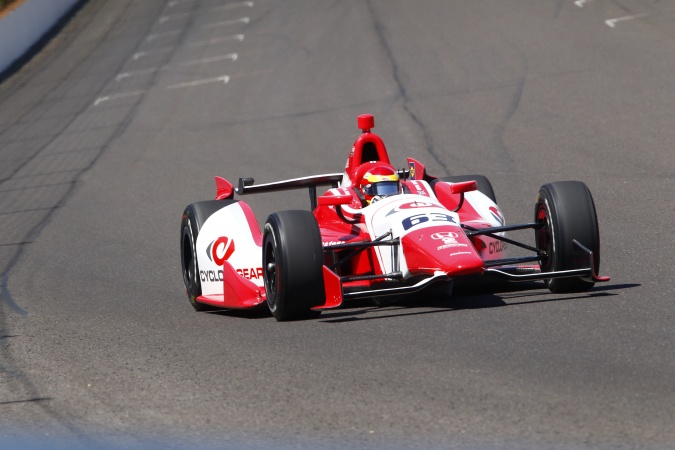 Photo: Pippa Mann - Dale Coyne Racing - Dallara DW12 - Honda