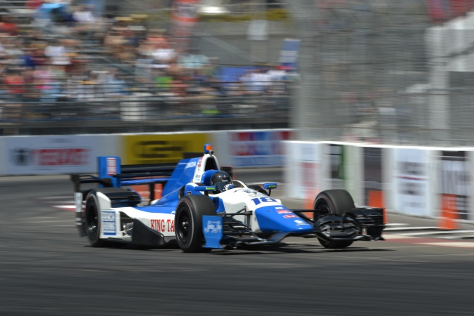 Photo: Rocky Moran - Dale Coyne Racing - Dallara DW12 - Honda