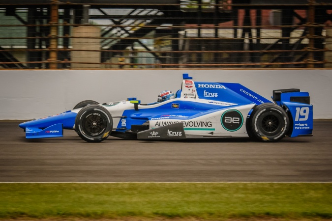 Photo: Tristan Vautier - Dale Coyne Racing - Dallara DW12 - Honda