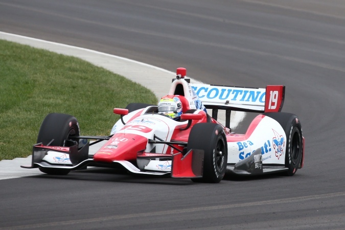 Photo: Justin Wilson - Dale Coyne Racing - Dallara DW12 - Honda