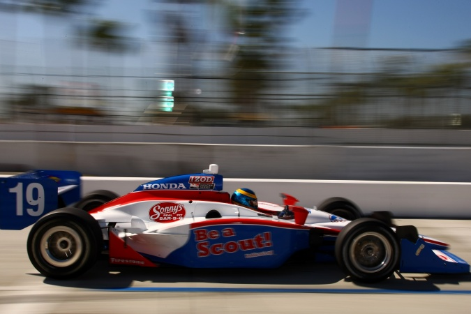 Photo: Sebastien Bourdais - Dale Coyne Racing - Dallara IR-05 - Honda