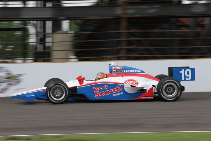 Photo: Alex Lloyd - Dale Coyne Racing - Dallara IR-05 - Honda