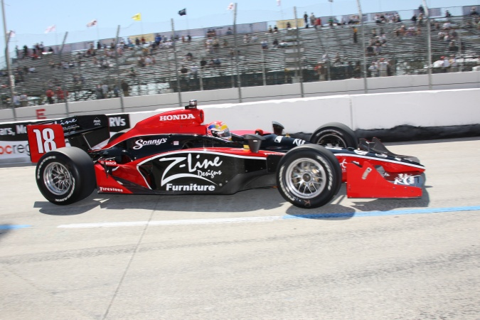 Photo: Justin Wilson - Dale Coyne Racing - Dallara IR-05 - Honda