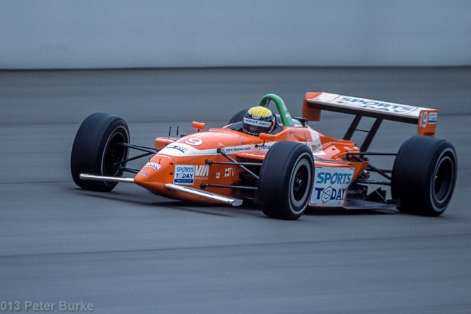 Photo: Alex Barron - Dale Coyne Racing - Lola B2K/00 - Ford