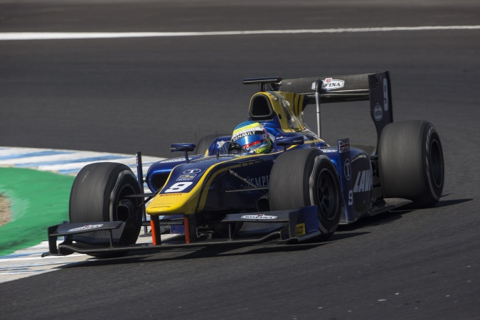 Photo: Oliver Rowland - DAMS - Dallara GP2/11 - Mecachrome