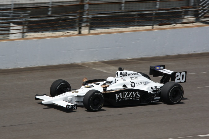 Photo: Patrick Carpentier - Dragon Racing - Dallara IR-05 - Honda