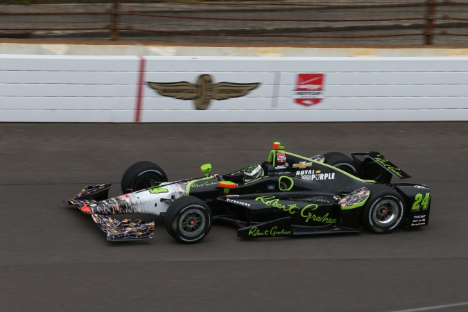 Photo: Townsend Bell - Dreyer & Reinbold Racing - Dallara DW12 - Chevrolet