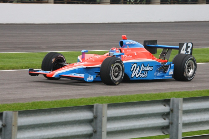 Photo: John Andretti - Dreyer & Reinbold Racing - Dallara IR-05 - Honda